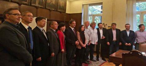 Δίκτυο πληροφόρησης επιχειρηματιών που θέλουν να δραστηριοποιηθούν για πρώτη φορά σε Αθήνα και Πεκίνο