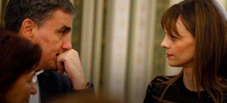 Τσακαλώτος - Αχτσιόγλου ενημέρωσαν Ευρωπαίους πρέσβεις για το χρέος