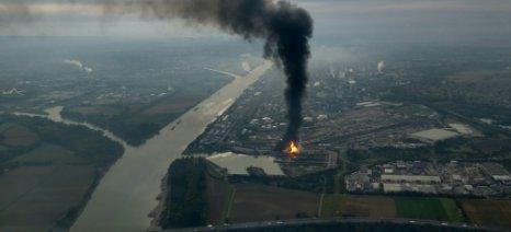 Μεγάλη έκρηξη στο εργοστάσιο της BASF στη Γερμανία, με τουλάχιστον δύο νεκρούς