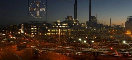 Από τους τομείς της υγείας και των αγροχημικών ανέβηκαν οι πωλήσεις και τα κέρδη της Bayer το 2015