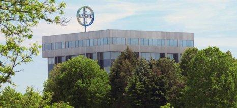 Μειωμένα τα καθαρά κέρδη της Bayer, λόγω χαμηλών επιδόσεων στα αγροχημικά