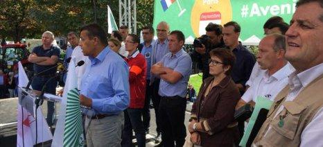 Ραντεβού στις Βρυξέλλες έδωσαν οι Γάλλοι αγρότες τη Δευτέρα