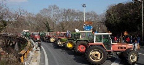 Μπλόκα σε Αργυροπούλι και Δαμάσι προγραμματίζουν οι αγρότες του Τυρνάβου