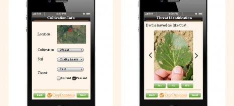 CropDiagnosis: Νέα εφαρμογή για τον έλεγχο των ασθενειών στις καλλιέργειες