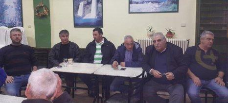 Όλα τα ανοιχτά αγροτικά ζητήματα συζητήθηκαν στο Δαμάσι