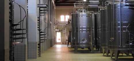 Μειωμένη κατά 7,26% η παραγωγή οίνων για την τρέχουσα αμπελοοινική περίοδο 2018/2019