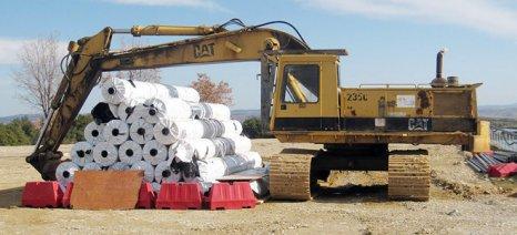 Ολοκληρώνεται η κατασκευή δύο δεξαμενών άρδευσης στην Πέτρα Πιερίας