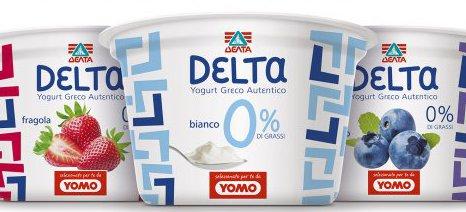 Κατά 180% αυξήθηκαν οι πωλήσεις γιαουρτιού Δέλτα στο εξωτερικό το α΄ 9μηνο του 2015