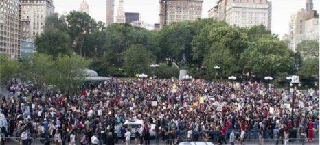 Διαδηλώσεις για την αμερικανική αστυνομική βία