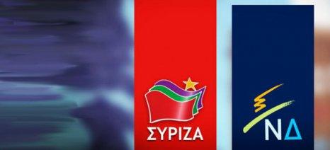 Προβάδισμα ΣΥΡΙΖΑ έναντι ΝΔ