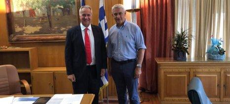 Με την ηγεσία του ΥπΑΑΤ συναντήθηκε ο Δημοσχάκης γα τις ζημιές στις καλλιέργειες του Έβρου