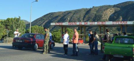 Στα δύο είναι χωρισμένοι και οι αγρότες της Πελοποννήσου