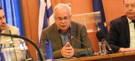 Αποστόλου: Θα ενημερώσουμε τον πρωθυπουργό για τους κινδύνους από τη μείωση των κονδυλίων της ΚΑΠ