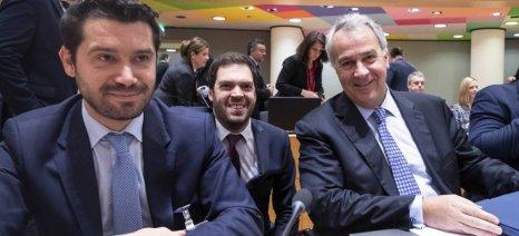 Επιπλέον κονδύλια για την «Πράσινη Συμφωνία» της Ε.Ε. ζήτησε ο Βορίδης