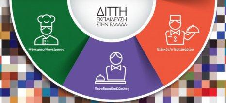Πρόγραμμα διττής επαγγελματικής εκπαίδευσης σε τουρισμό και εστίαση από την DUAL Hellas