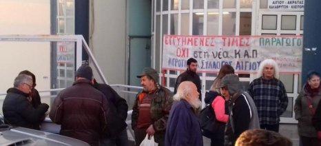 Αγρότες κατέλαβαν την Εφορία Αιγίου σήμερα - στις 2 Φεβρουαρίου η επόμενη κινητοποίηση στον ΕΛΓΑ Πάτρας