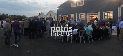 Εγκαινιάστηκε το νέο κατάστημα εφοδίων της Ένωσης Παραγωγών Α.Ε.Σ.Α.Ε. στην Αμαλιάδα