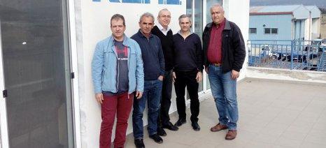 Δενδροκαλλιεργητές από Ημαθία και Πέλλα ενημερώθηκαν από το ΚΕΜΕ του ΕΛΓΑ για την αντιχαλαζική προστασία