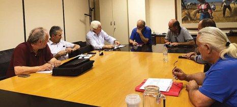 Συνάντηση Κουρεμπέ-Πρίντζου, εκπροσωπώντας ΕΛΓΑ και ΣΑΣΟΕΕ αντίστοιχα, για τις αποζημιώσεις
