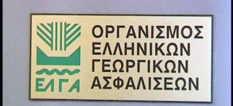 Πίστωση 15 εκατ. ευρώ στον ΕΛΓΑ για τις δηλώσεις του 2015