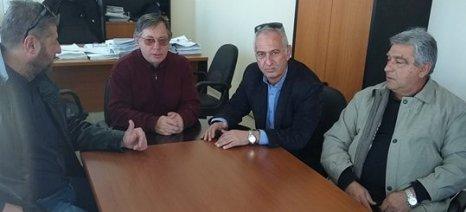 Για όλα τα εκκρεμή ζητήματα με τον ΕΛΓΑ επισκέφθηκαν τα γραφεία του οργανισμού στελέχη του ΣΥΡΙΖΑ Τυρνάβου