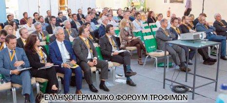 Νέες συμφωνίες για εξαγωγές προωθούνται μέσω του 2ου Ελληνογερμανικού Φόρουμ Τροφίμων