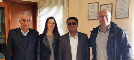 Συνεργασία της ΕΛΒΙΖ με την ινδική AYRVET, που παράγει φυτικά συμπληρώματα διατροφής ζώων