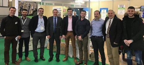Ενδιαφέρον από τους επισκέπτες της Zootechnia για τις ζωοτροφές της Ένωσης Αγρινίου