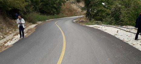 Αποκατάσταση καταστροφών σε επαρχιακή οδό του νομού Κιλκίς