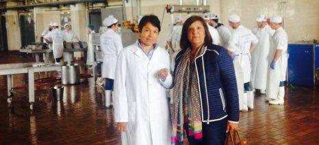 Την Γαλακτοκομική Σχολή επισκέφθηκε η αντιδήμαρχος Ιωαννίνων