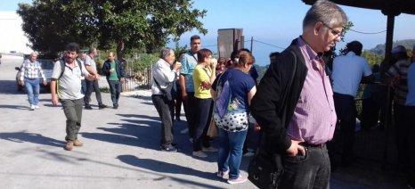 Επίσκεψη Κύπριων παραγωγών στον Αγροτικό Συνεταιρισμό Ζαγοράς Πηλίου