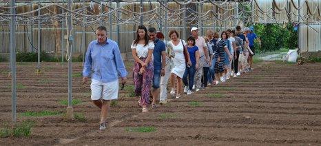 Αντιπροσωπεία από τη Μολδαβία επισκέφθηκε την Αναπτυξιακή Πάρνωνα για το Leader