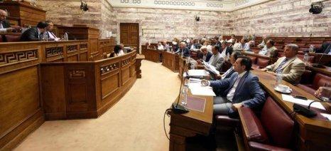 Στις 3 το μεσημέρι σήμερα η συζήτηση του νέου Ασφαλιστικού και Φορολογικού στις αρμόδιες επιτροπές της Βουλής