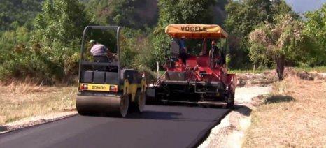 Έργα αγροτικής οδοποιίας σε Λέσβο και Σάμο