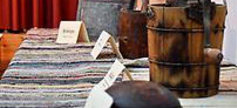 """Ξεκίνησε η έκθεση """"Παλαιών Αγροτικών Εργαλείων"""" στην Αίγινα"""