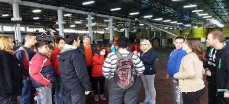 Εκπαίδευση μαθητών στο εργοστάσιο ελιάς της Ένωσης Αγρινίου