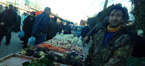 «Πάγωσαν» οι παραγωγοί χειμερινών λαχανικών στην Κομοτηνή
