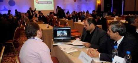 """Επιχειρηματικές επαφές στην Κρήτη για εξαγωγές ελληνικών προϊόντων, με τα """"φώτα"""" των Eurobank και Santander"""