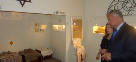 Το Εβραϊκό Μουσείο της Ελλάδας επισκέφθηκε ο Βορίδης