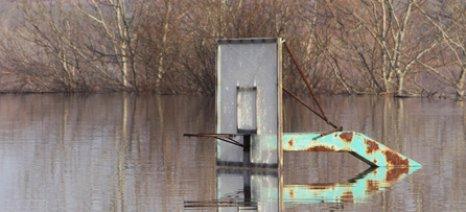 Πλημμύρες σε καλλιεργήσιμες εκτάσεις στον Έβρο