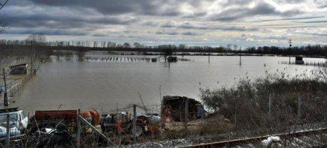 Πλημμύρισαν 45.000 στρέμματα στον Έβρο και το φαινόμενο είναι σε εξέλιξη