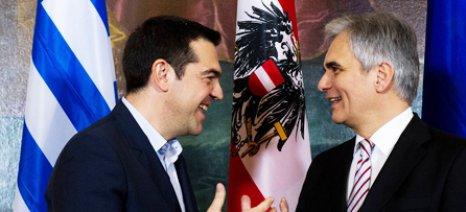 Στην Αθήνα έρχεται αύριο ο Αυστριακός Καγκελάριος