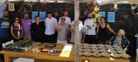"""Φάτα πριν μας... """"φάνε""""! Ξενικά είδη ψαριών μαγειρεύτηκαν από σεφ στη Σαντορίνη"""