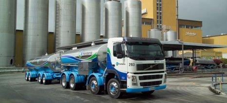Στα χαμηλότερα επίπεδα των 13 τελευταίων ετών οι διεθνείς τιμές γάλακτος