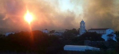 Προτεραιότητα η κατάσβεση της πυρκαγιάς και η άμεση ανακούφιση των πληγέντων στα Κύθηρα