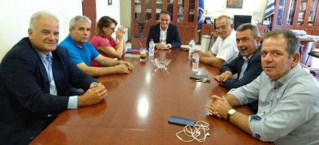 Την πρόθεσή της για δημιουργία γραφείου του ΕΦΕΤ στην Κοζάνη ανακοίνωσε η Τελιγιορίδου