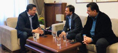 Πάνας προς Τζιτζικώστα: Να ληφθούν μέτρα για τις καταστροφές που υπέστη η Χαλκιδική