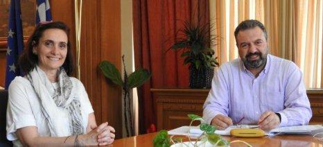 Συνάντηση Αραχωβίτη - Ρωμανού για την αντιμετώπιση της κλιματικής αλλαγής
