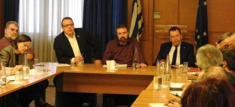Σύσκεψη για το σύστημα ανακύκλωσης κενών συσκευασιών φυτοπροστατευτικών προϊόντων