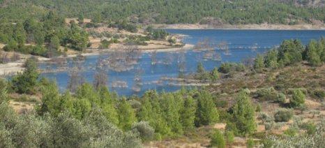 Μειωμένα τα αποθέματα νερού στο φράγμα Απολακκιάς στη Ρόδο